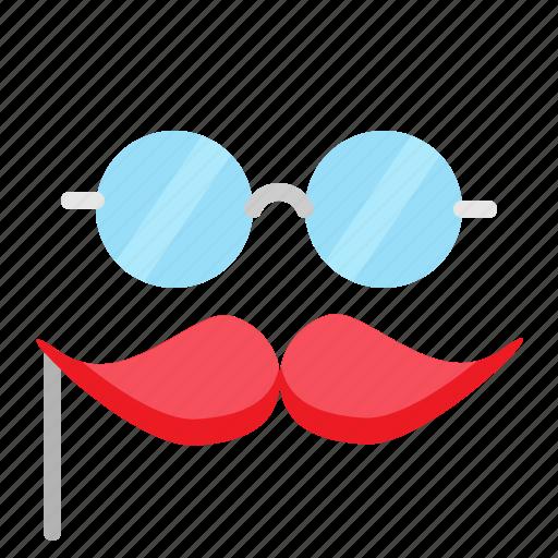 birthday, eye, fun, glasses, party icon
