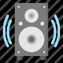 audio, loudspeaker, music, sound, speaker
