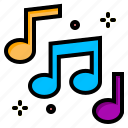 key, music, note, song, sound icon