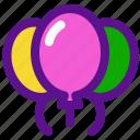 baloons, holiday, kid, party