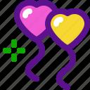 baloons, heart, holiday, kid, party