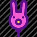 holiday, kid, party, rabbit icon