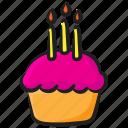 cupcake, dessert, fairy cake, food, muffin