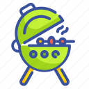 barbecue, bbq, food, grill, ribs icon