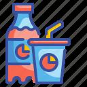 bottle, coke, drink, refreshment, soda icon