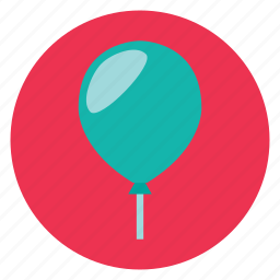 ballon, birthday, party icon