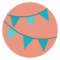 decoration, party icon