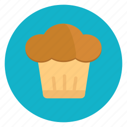 muffin, sweets icon