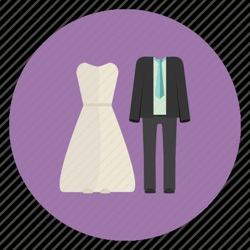 bride, couple, groom, marriage, wedding icon