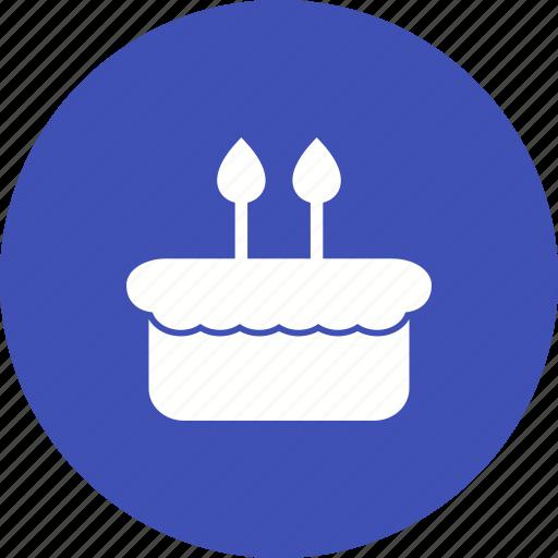 Food, dessert, birthday, sweet, cake, party, celebration icon