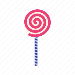 birthday, candy, celebration, lollipop, lolly, party, sweet icon