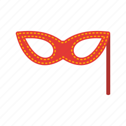 costume, hat, kid, mask, party, prop, props icon