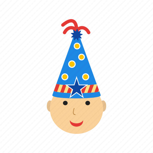 birthday, cake, child, cute, fun, party, people icon