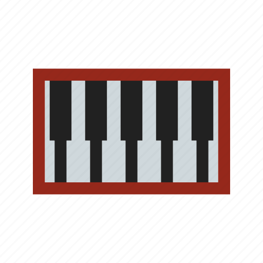 birthday, key, music, party, piano, play, sound icon