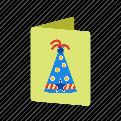 anniversary, birthday, card, fun, happy, invitation, party icon