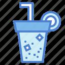 cup, drink, food, soda, soft, straw icon