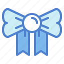 and, birthday, bow, christmas, decoration, party, ribbon icon