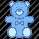 animal, bear, fluffy, puppet, teddy icon