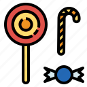 candy, stick, sugar icon