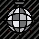 ball, blink, disco icon