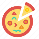 italian, pizza icon