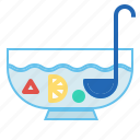 bowl, punch, splash icon