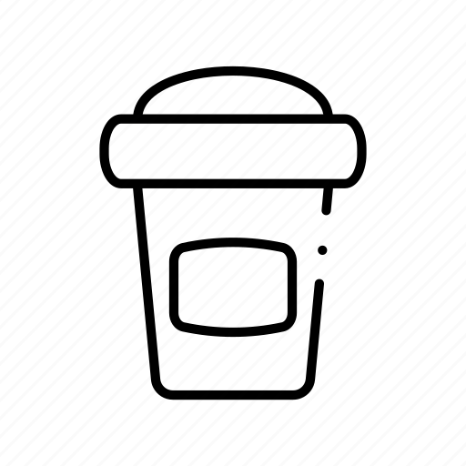 caramel, carbonated, cardboard, carton, cartoon, cup icon