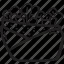 bistro, fast food, food, kebab, pita, restaurant icon