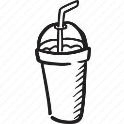 bistro, drink, food, milk shake, restaurant, soda icon