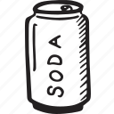 bistro, can, drink, food, restaurant, soda icon