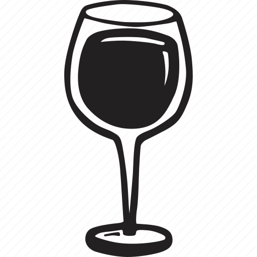 bistro, food, glass, red, restaurant, wine icon