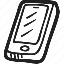 contact, mobile, restaurant, smartphone, telephone icon