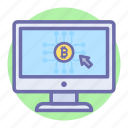 bit, coin, digital currency, finance, marketing, online payment, payment icon