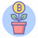 bit, bit coin growth, bitcoin, coin, digital currency growth, finance, money growth