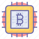 bit, business, coin, digital currency, finance, online icon