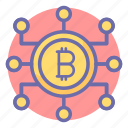 bit, business, coin, digital currency, finance icon