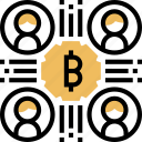 bitcoin, network, transaction, trade, users