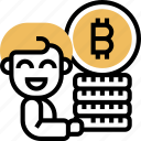 cryptography, bitcoin, money, transaction, blockchain