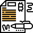 signature, bitcoin, transaction, verification, digital