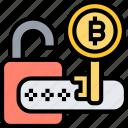 bitcoin, encryption, code, password, security