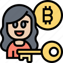 bitcoin, user, secure, private, key