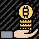 chargeback, purchase, transaction, exchange, bitcoin icon