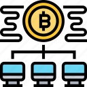 decentralized, bitcoin, network, transaction, payments