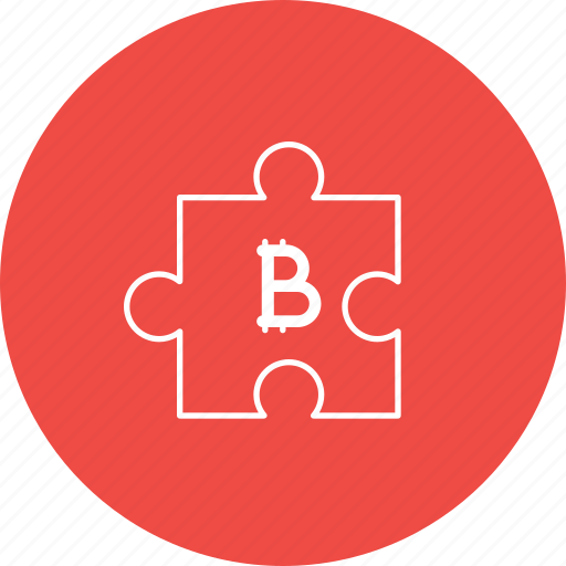 bitcoin, investment, money, planning, puzzle, strategy icon