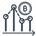 bitcoin, block, chain, coin, crypto, currency, finance