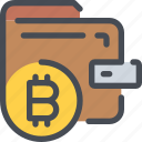 bitcoin, business, coin, currency, money, payment, shopping icon