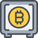 bank, bitcoin, business, currency, invesement, money, saving icon