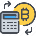 accounting, bitcoin, coin, currency, finance, financial, money icon