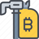 bag, bank, bitcoin, currency, money icon