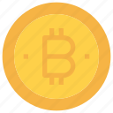 bitcoin, btc, business, coin, currency, money icon